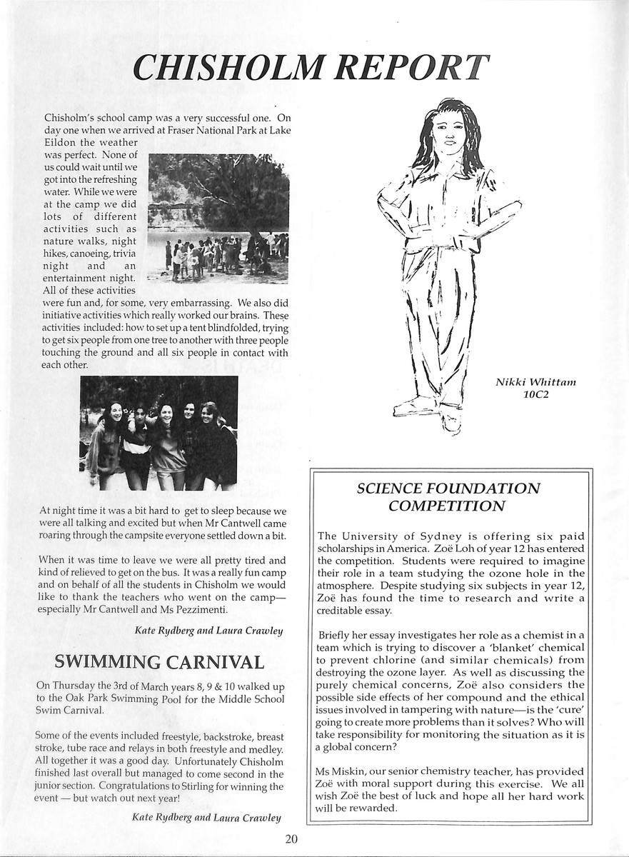 Volume 38 No  1 – Term 1 1994 – Glamis Gazette